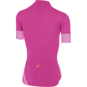 Castelli Anima 2 FZ Jersey Women alba pink